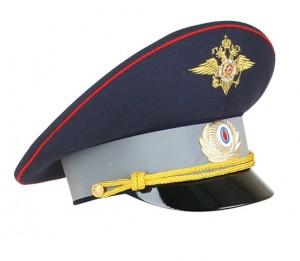 Фуражка офицерская ДПС модельная